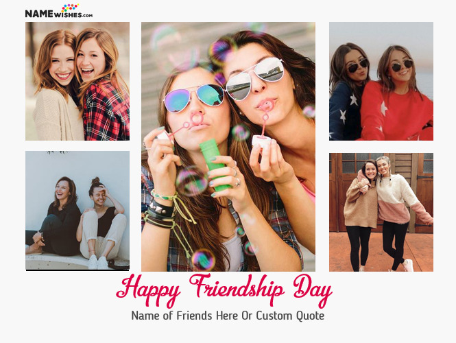 Happy Friendship Quotes With Friends Photos