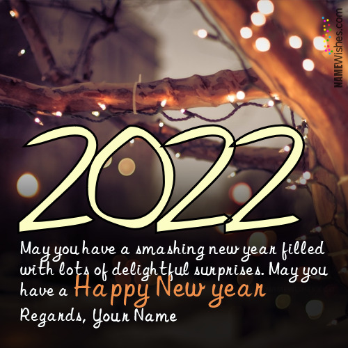 Download New Year's Eve Wishes With Name