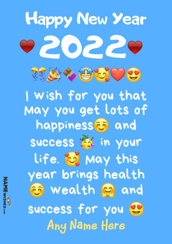 Happy New Year Wishes With Name 2021 Whatsapp Status