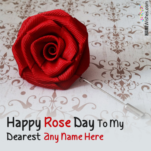 Happy Rose Day Quotes With Couple Names