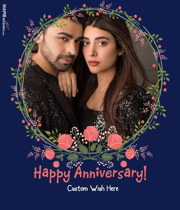 Happy Wedding Anniversary with Images
