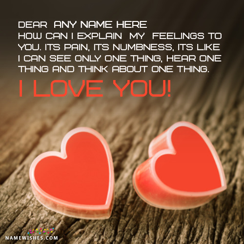 I love You You Love Me Images With Name