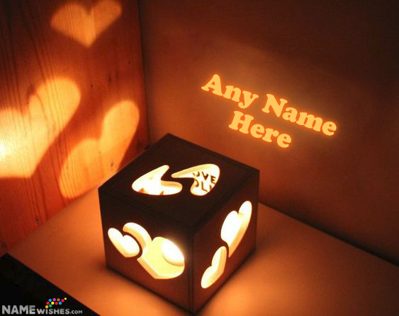 Light Box Birthday Gift With Name