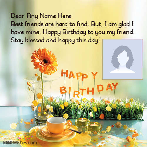 Lovely New Birthday Wishes With Name