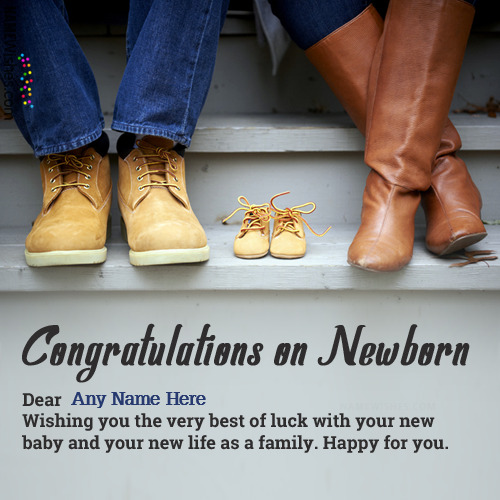 Lovely New Born Baby Wishes For Parents