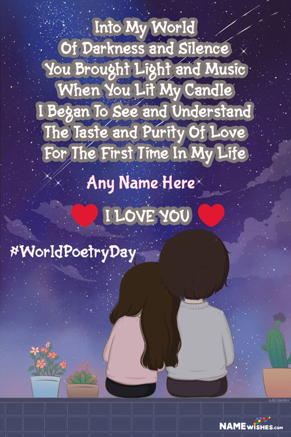 Poetry nice romantic 25 Beautiful