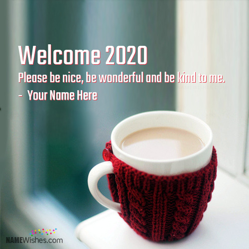 New Welcome 2019 Wishes With Name