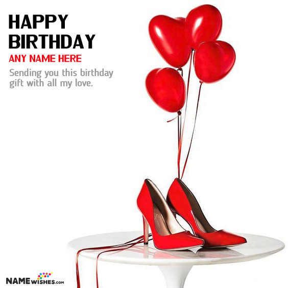 Personalized Birthday Gift for Girls - Pair of Heels