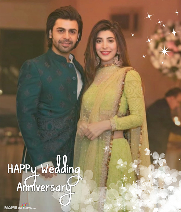 Romantic Love Anniversary Photo Frame