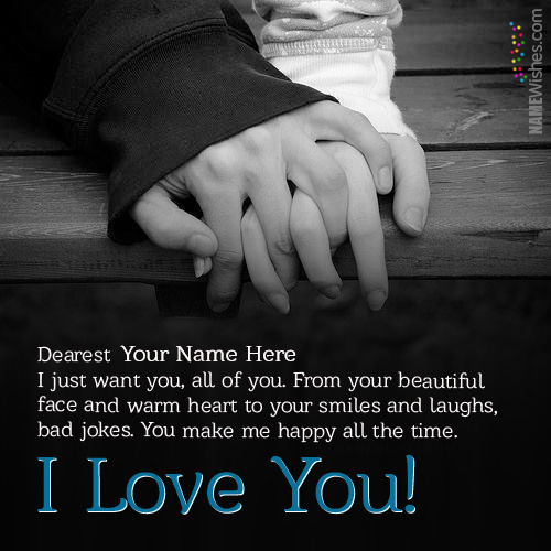 Say I Love You Pictures With Name