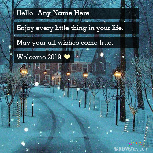 Best Eve Welcome 2019 Wishes With Name